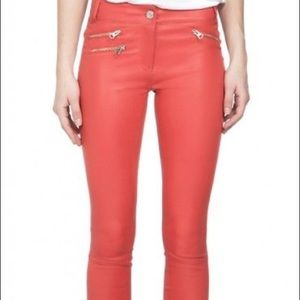 Mackage leather leggings 👖